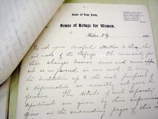 Annual report # 12, House of Refuge in Hudson for Women, 1899