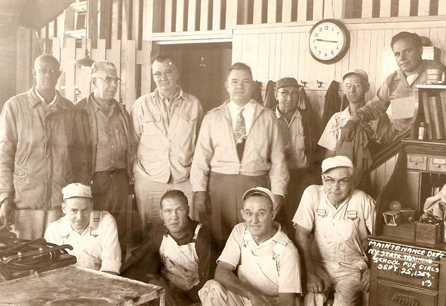 Punching the Clock - NYS Training School Maintenance Crew