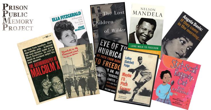 Books for Black History Moth BEYOND BARS readings
