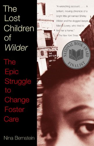 The Lost Children of Wilder, book cover